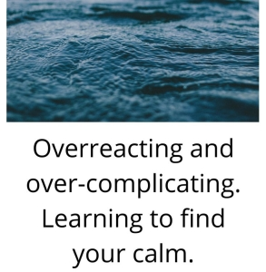 Reacting too soon and finding your calm (2)